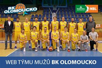 BK Olomoucko - účastník Kooperativa Národní basketbalové ligy